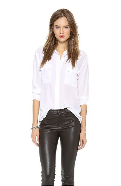 The Button-Down Blouse