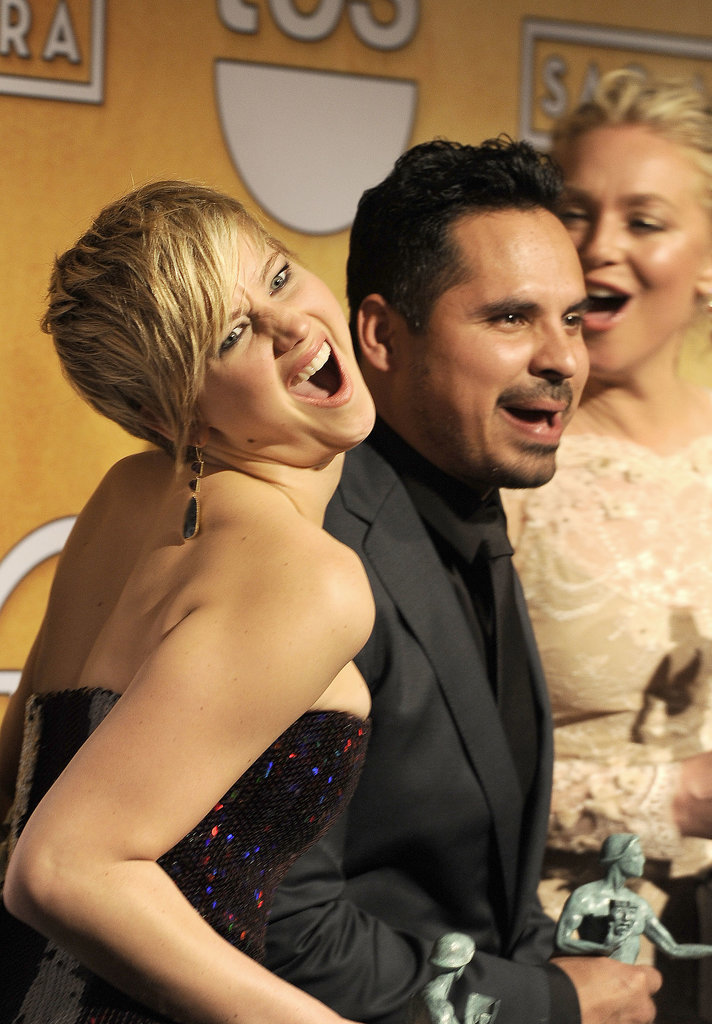 Jennifer Lawrence Was Superthrilled About Her SAG