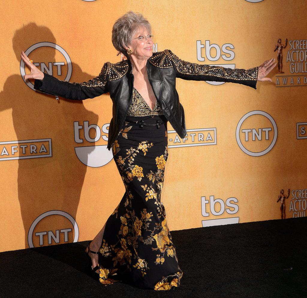 Rita Moreno Danced Backstage at the SAGs