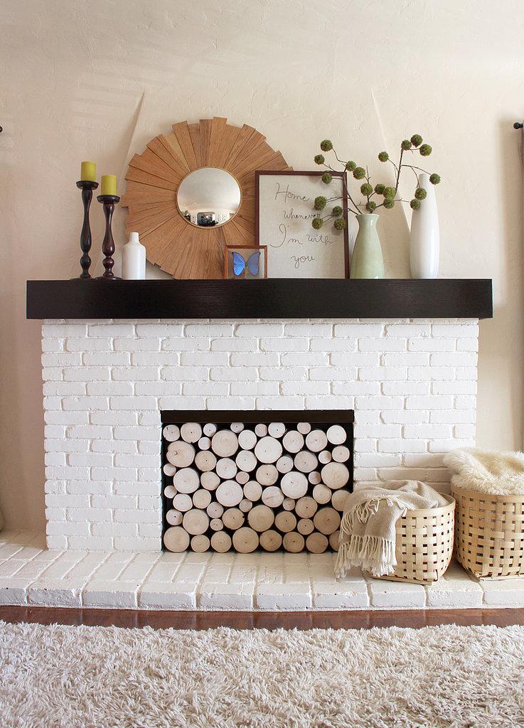 Create a Fireplace Facade