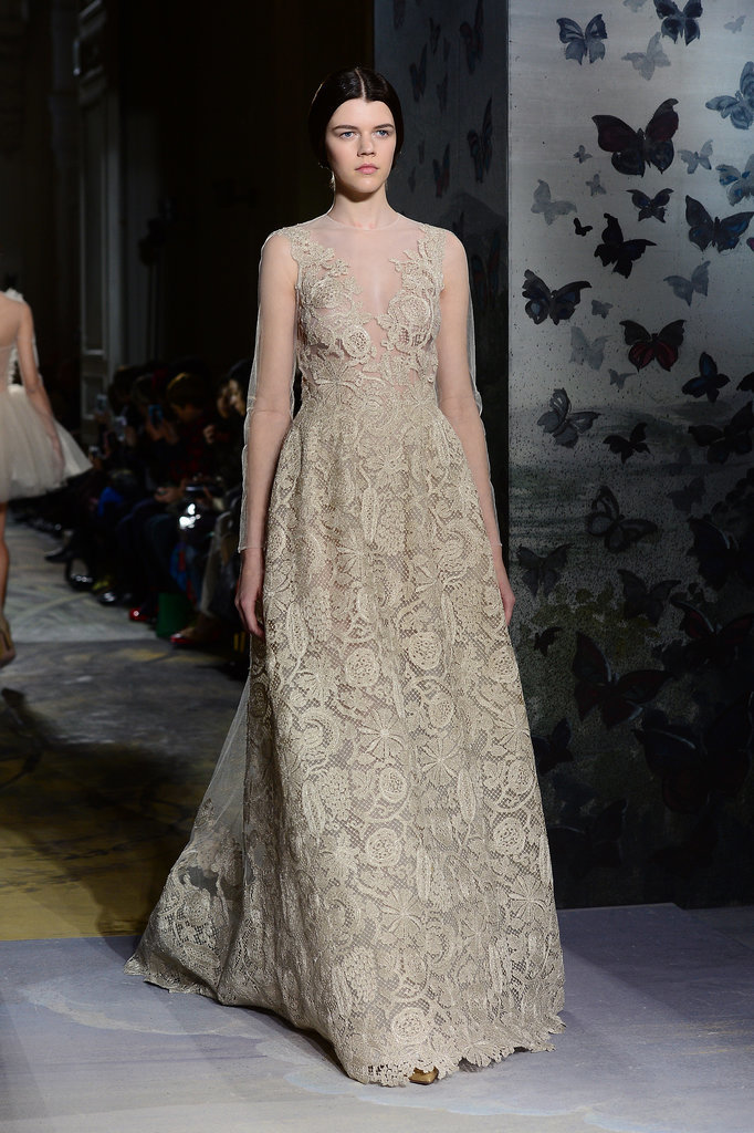Anne Hathaway: Valentino Haute Couture Spring 2014