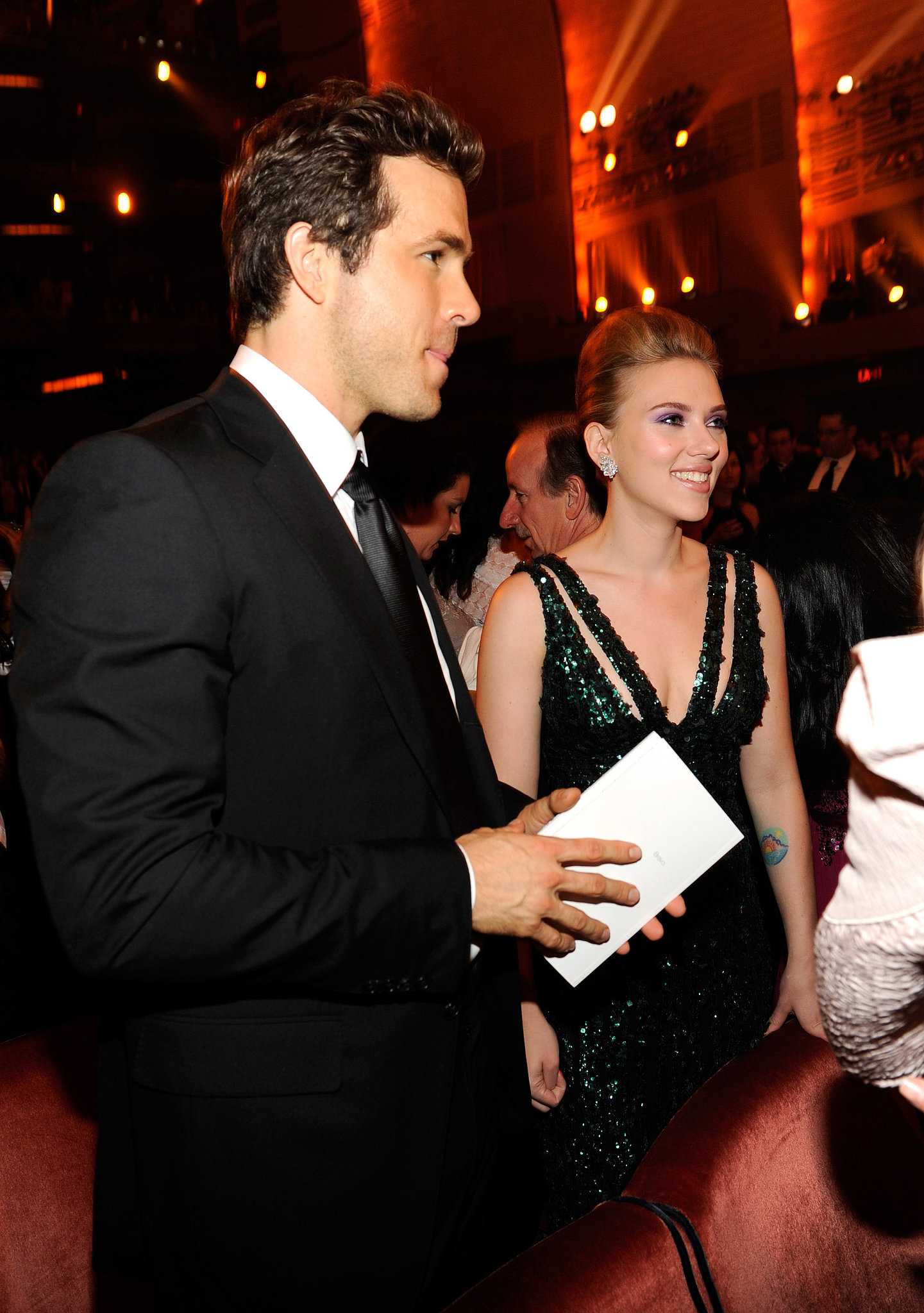 Scarlett Johansson and Ryan Reynolds | Celebrities Who ...