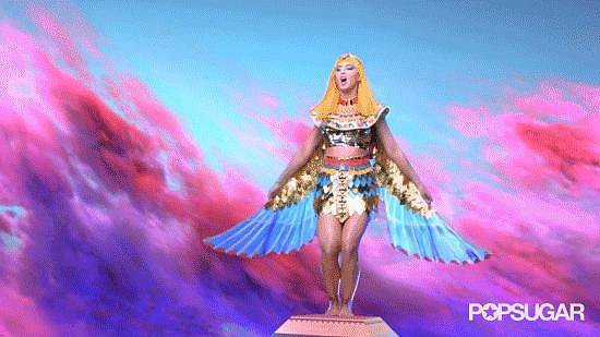 At This Point, It's Safe to Say Katy's Winging It