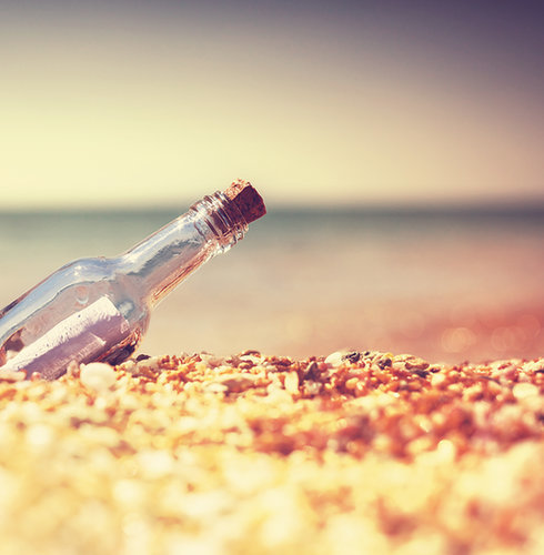 Send a Message in a Bottle