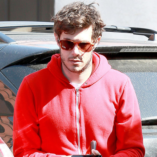 Adam Brody Wearing His Wedding Ring