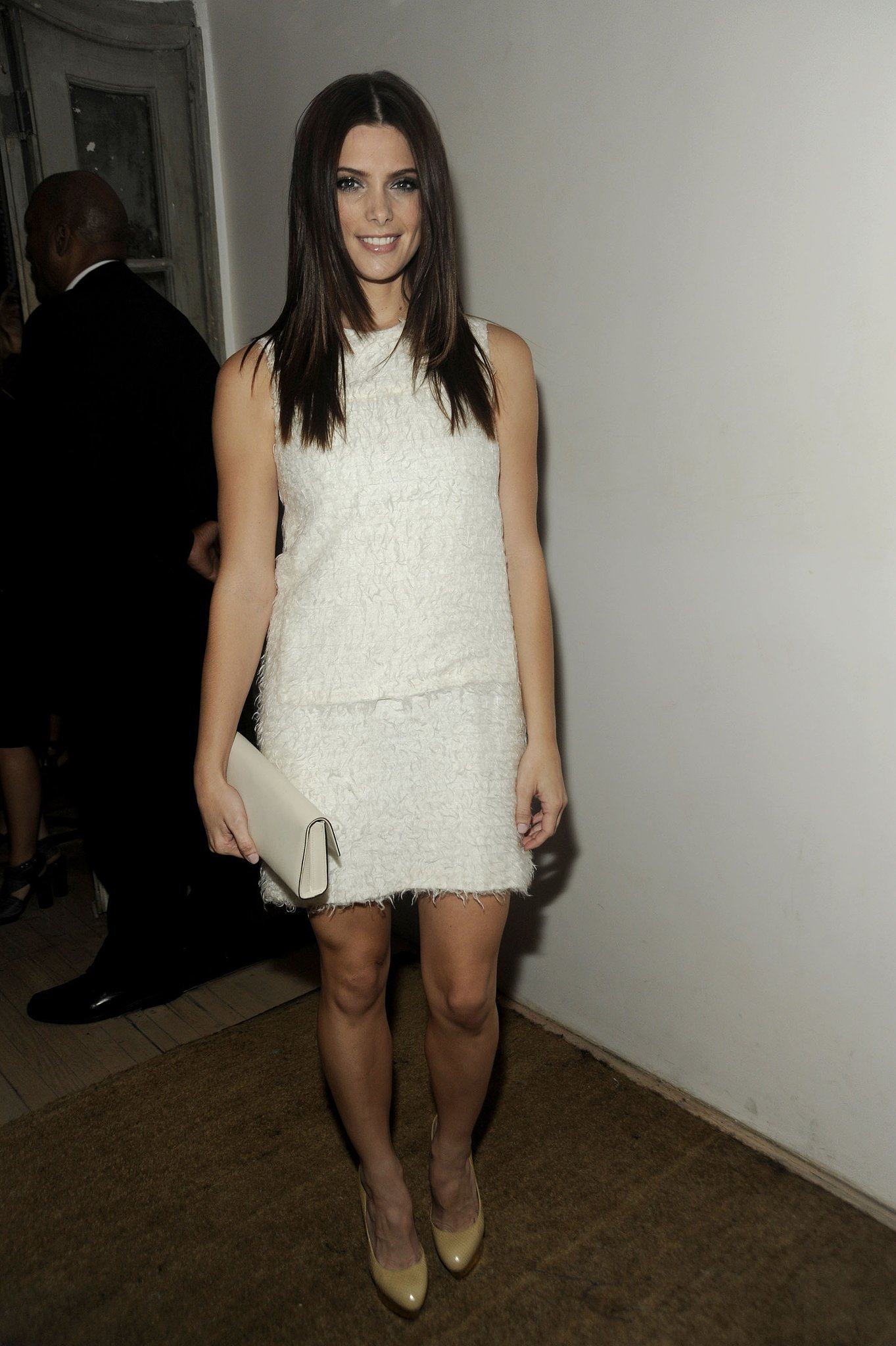 Lovely and just a little sexy in an LWD for a 2011 event.
