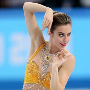 Womens Figure Skating Hair at Sochi Olympics 2014