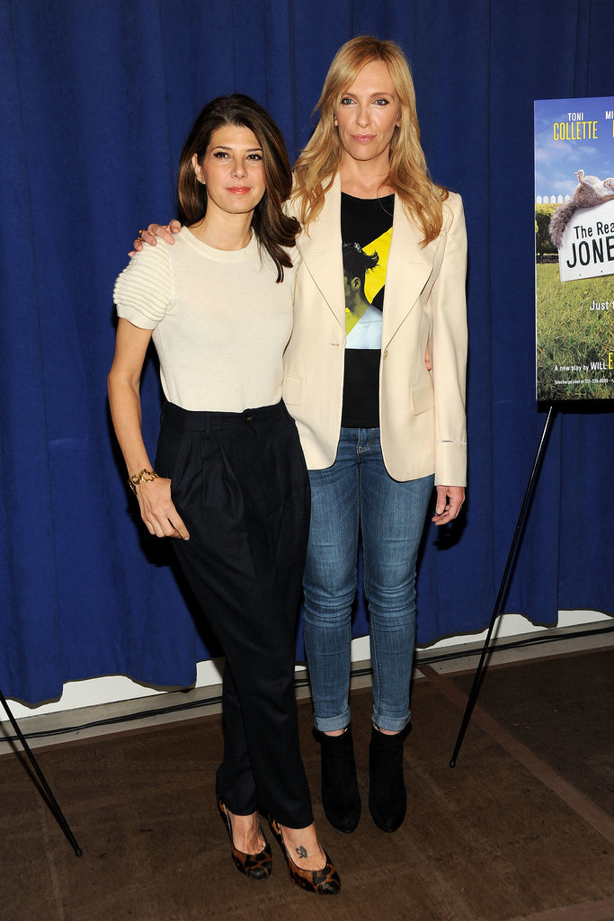 Marisa Tomei and Toni Collette