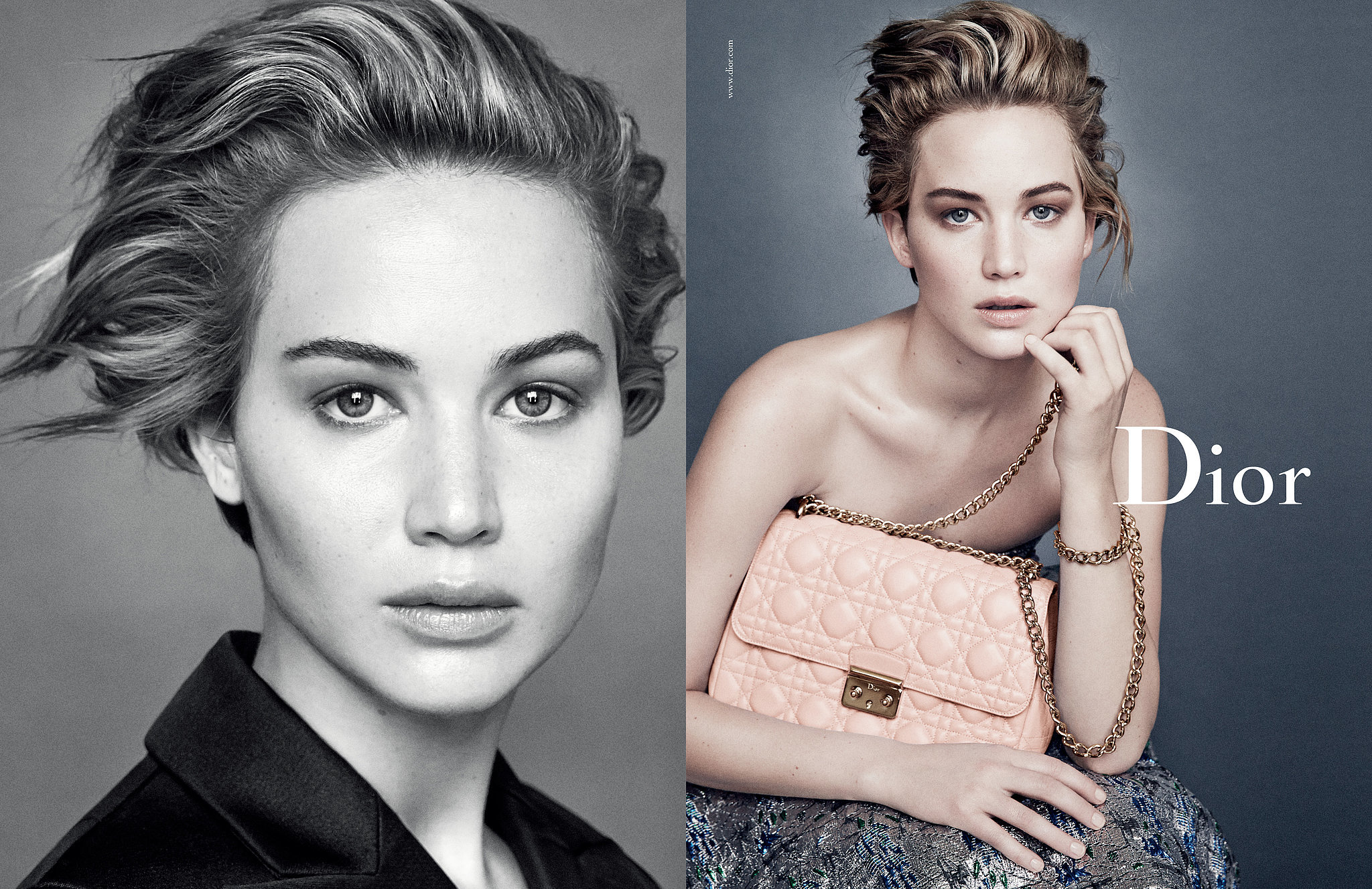 Jennifer Lawrence For Miss Dior
