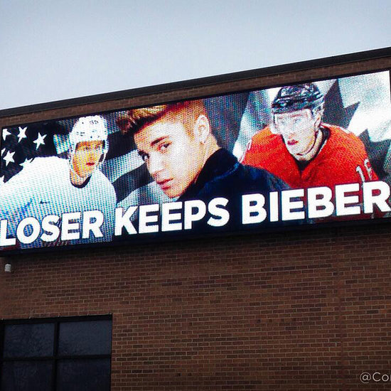 USA vs. Canada Loser Keeps Bieber Billboard