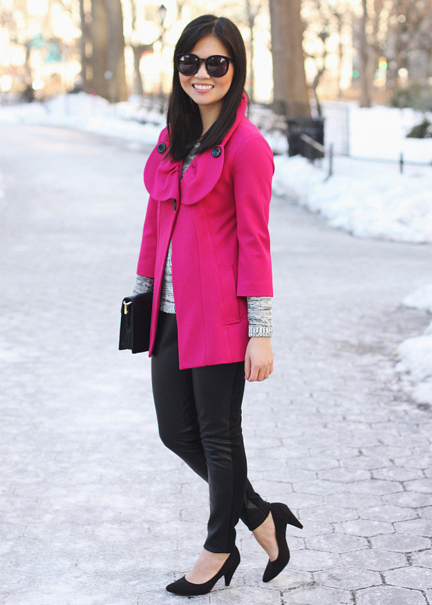 Congrats, skirttherules! We always love a pop of pink.