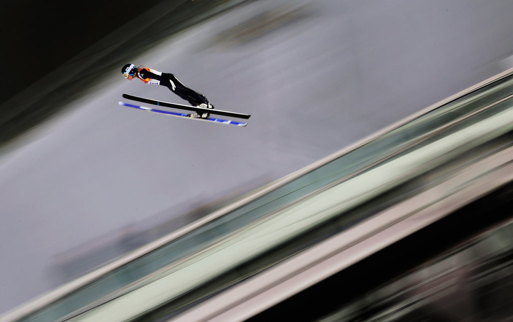 Ski Jumpers Mark a First