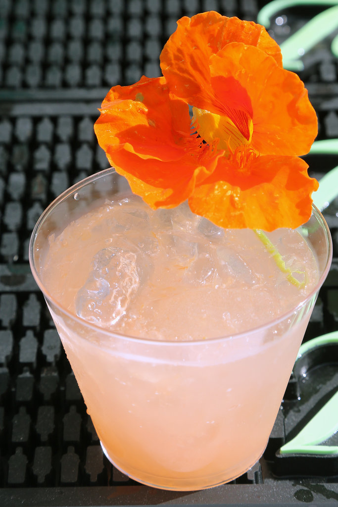 Ice and Floral Garnishes Are Essential