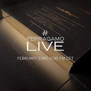 Watch Salvatore Ferragamo at Milan Fashion Week