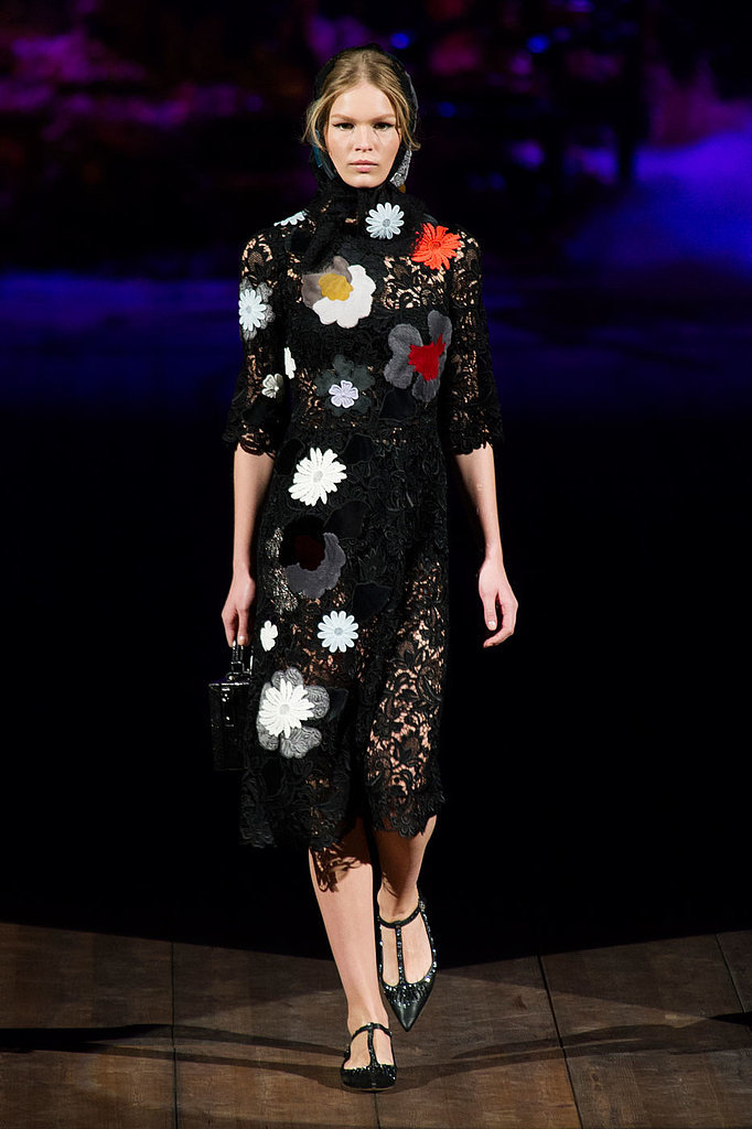 2014 Autumn Winter Dolce and Gabbana Milan Fashion Week ...