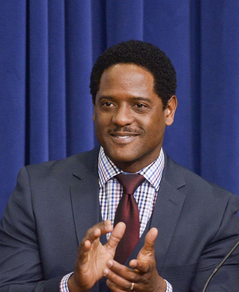Blair Underwood attended the White House screening of The Trip to Bountiful.