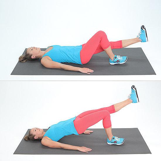 Single-Leg Bridge Lift | Knee Pain? Start Doing These Exercises ASAP ...