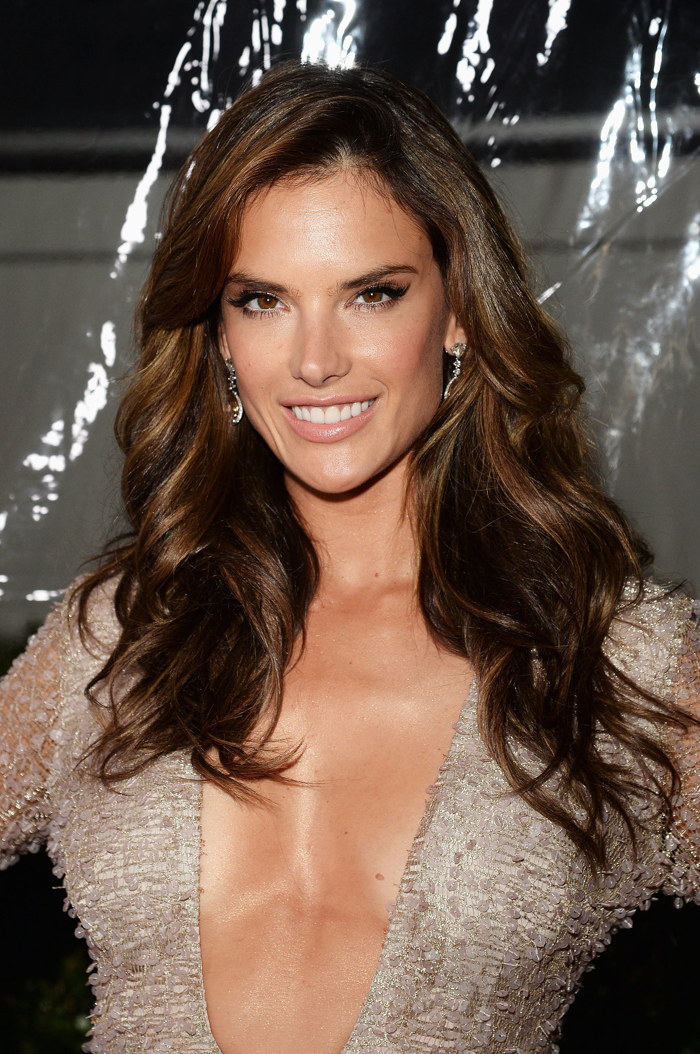 alessandra ambrosio balayage highlights ditch the foils