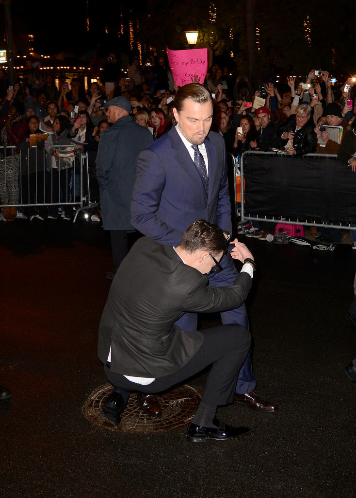 Don't Worry, Leo Got One at the Santa Barbara Film Festival, Too