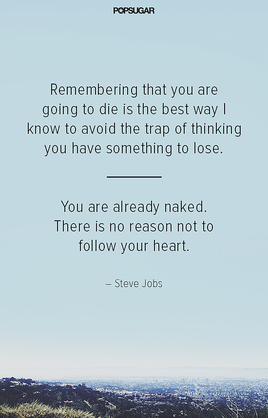 On Following Your Heart