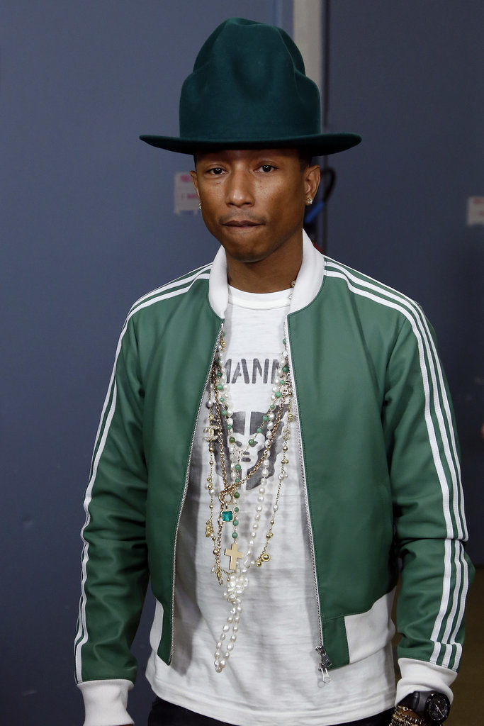 A month later, the two are still going strong. Pharrell's hat joined him at a press conference in Paris on Monday.