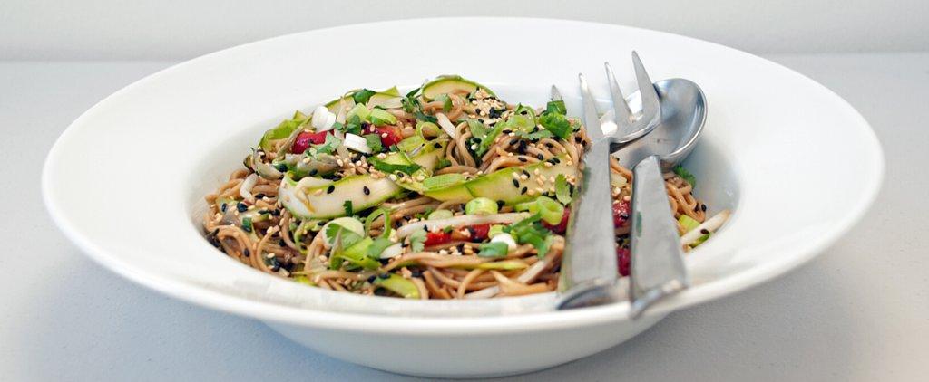 A Choose-Your-Own-Adventure Sesame-Ginger Soba Noodle Salad