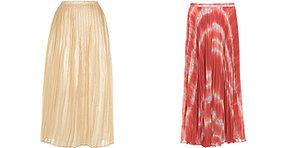 Plissee-Röcke sind DER Trend im Frühjahr