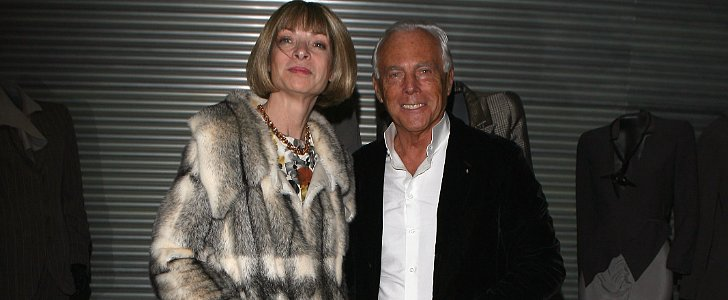 Are Giorgio Armani and Anna Wintour Fighting?