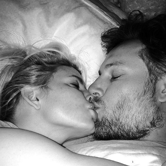 Jessica Simpson Kissing Eric Johnson