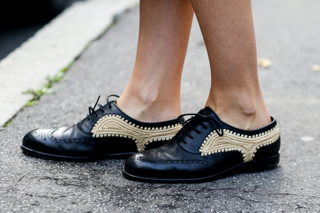 Does it get cooler than gold-braided brogues?