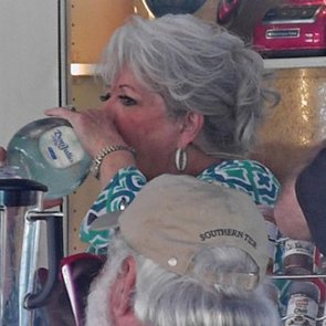 Paula Deen Riding Robert Irvine Picture 2014