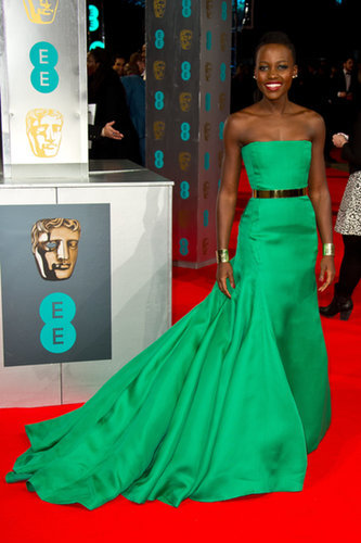 Lupita Nyong'o at the BAFTA Awards
