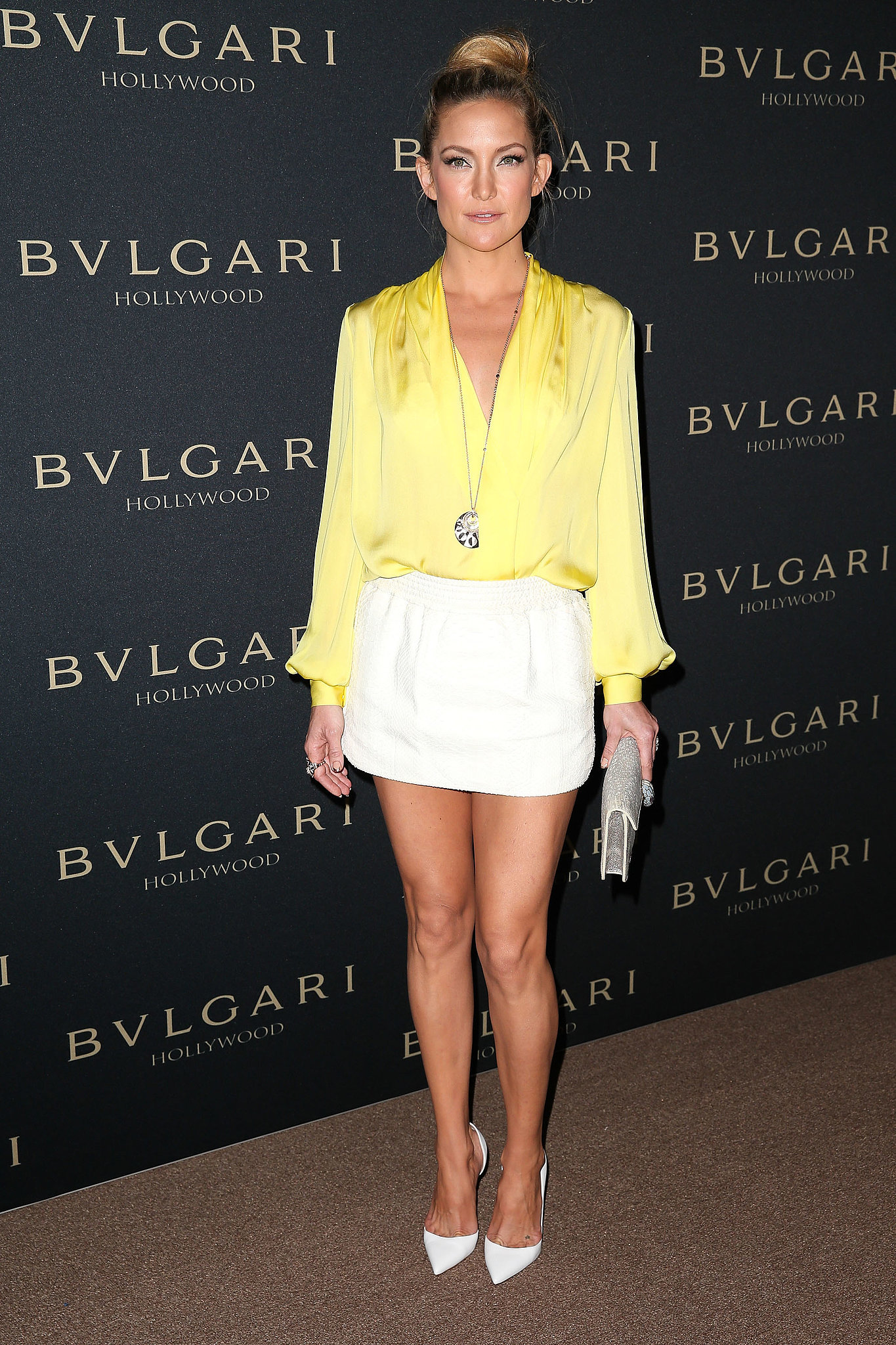 Kate Hudson at the Bulgari Decades of Glamour Oscar Party