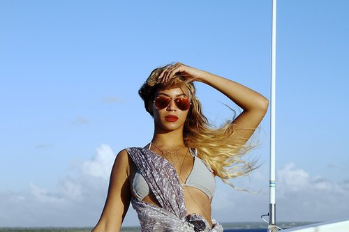 Beyoncé Knowles shared this stunning boat photo while on vacation in March 2014. Source: Tumblr user Beyoncé Knowles