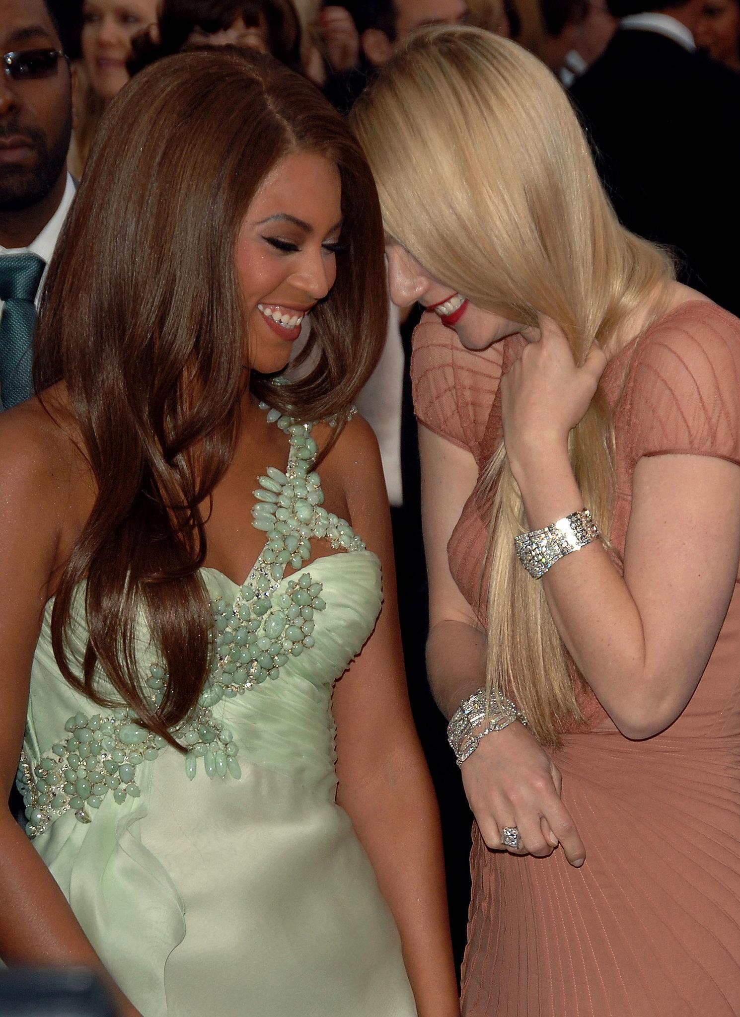 Beyonce Gwyneth 2014 Gwyneth Paltrow And Beyoncé