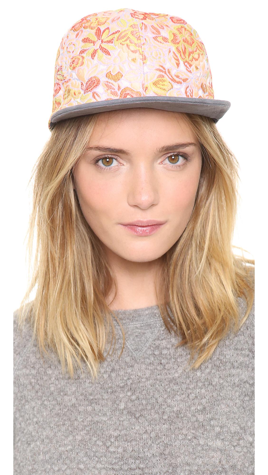Eugenia Kim Floral Hat