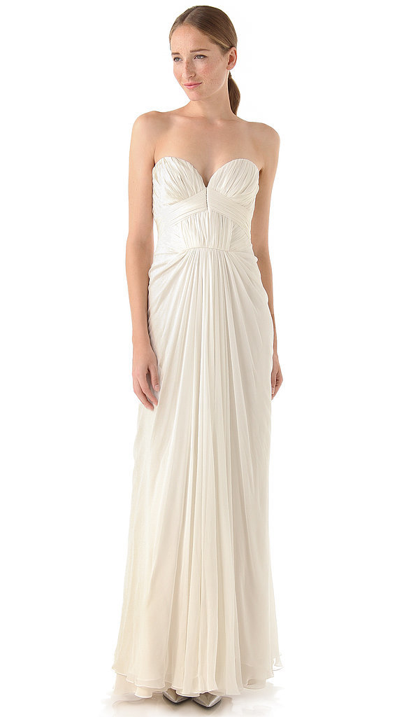J. Mendel Strapless Pleated Gown ($5,500)