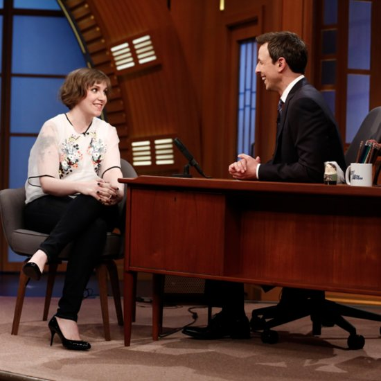Lena Dunham Interview on Late Night With Seth Meyers | Video
