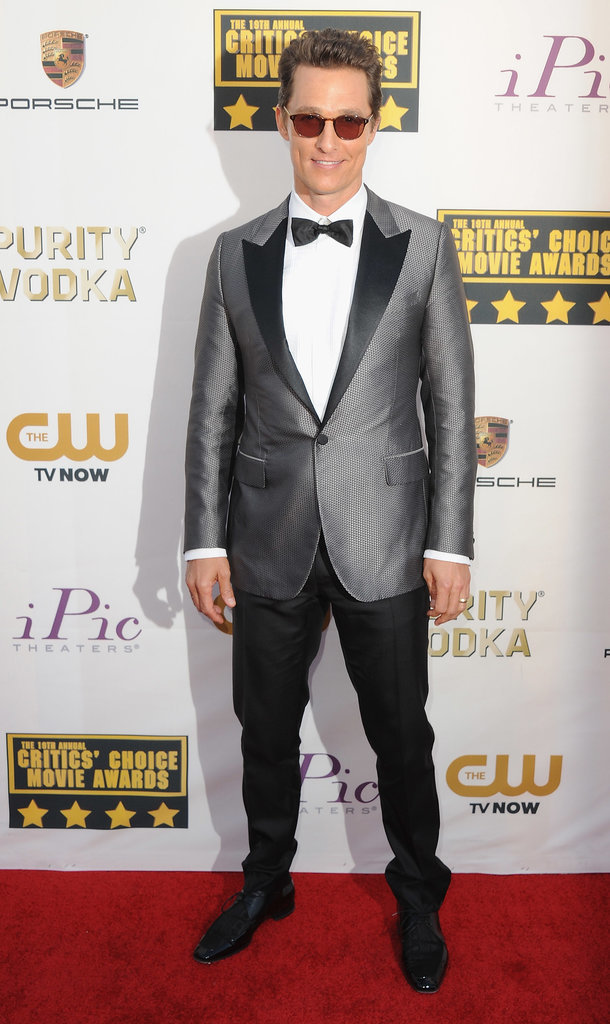 Matthew McConaughey at the Critics' Choice Awards