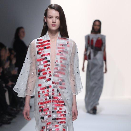 Chalayan Fall 2014 Nails on Dresses | Paris Fashion Week