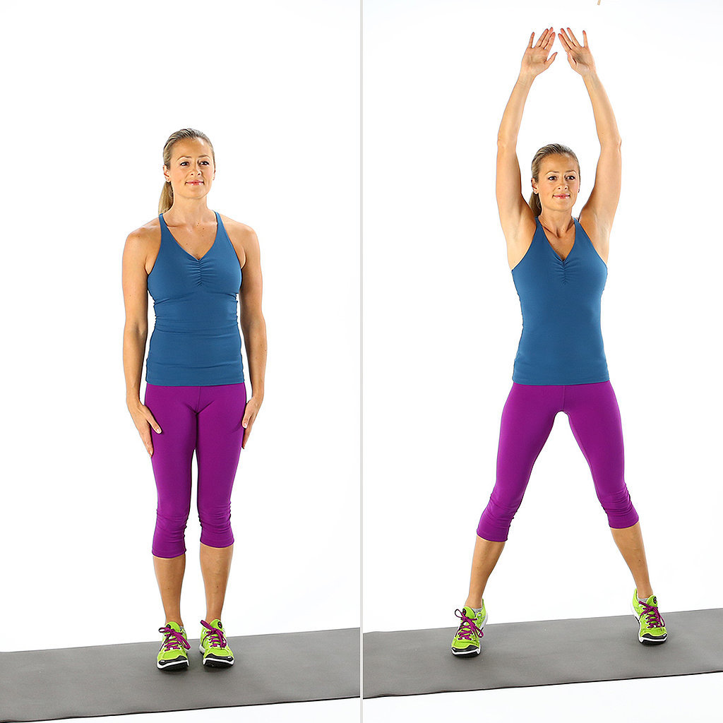 How to do jumping jacks