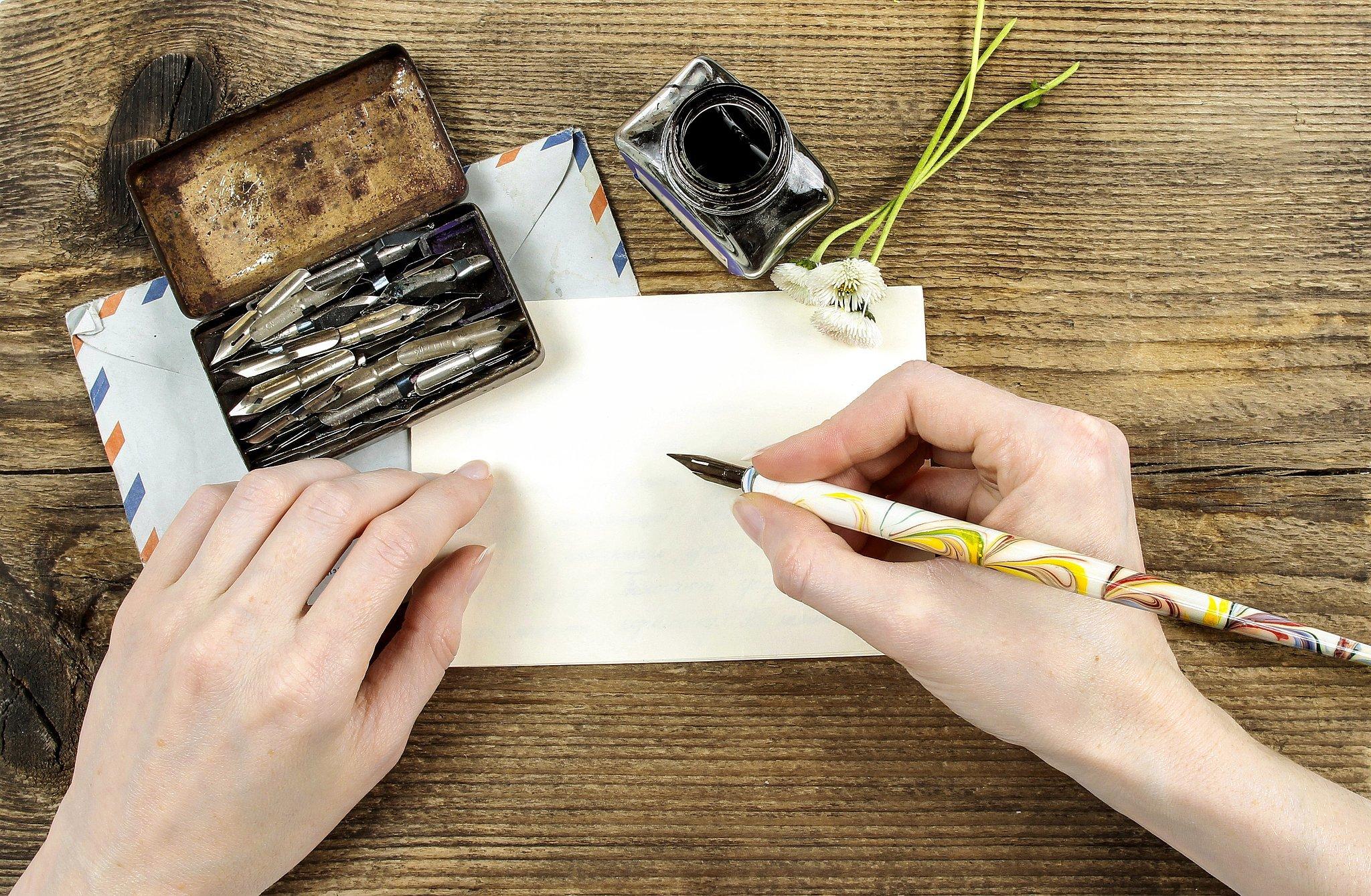 6. Write a Handwritten Letter
