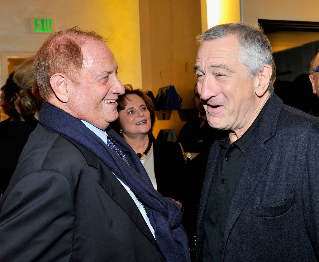 Robert De Niro had an amusing conversation with film producer Mike Medavoy.
