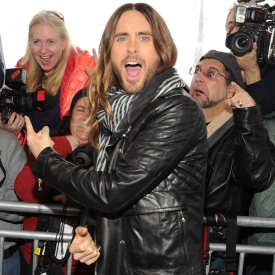 Jared Leto On Red Carpet At 2014 Independent Spirit Awards