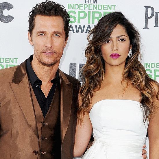 Matthew McConaughey, Camila Alves Independent Spirit Awards