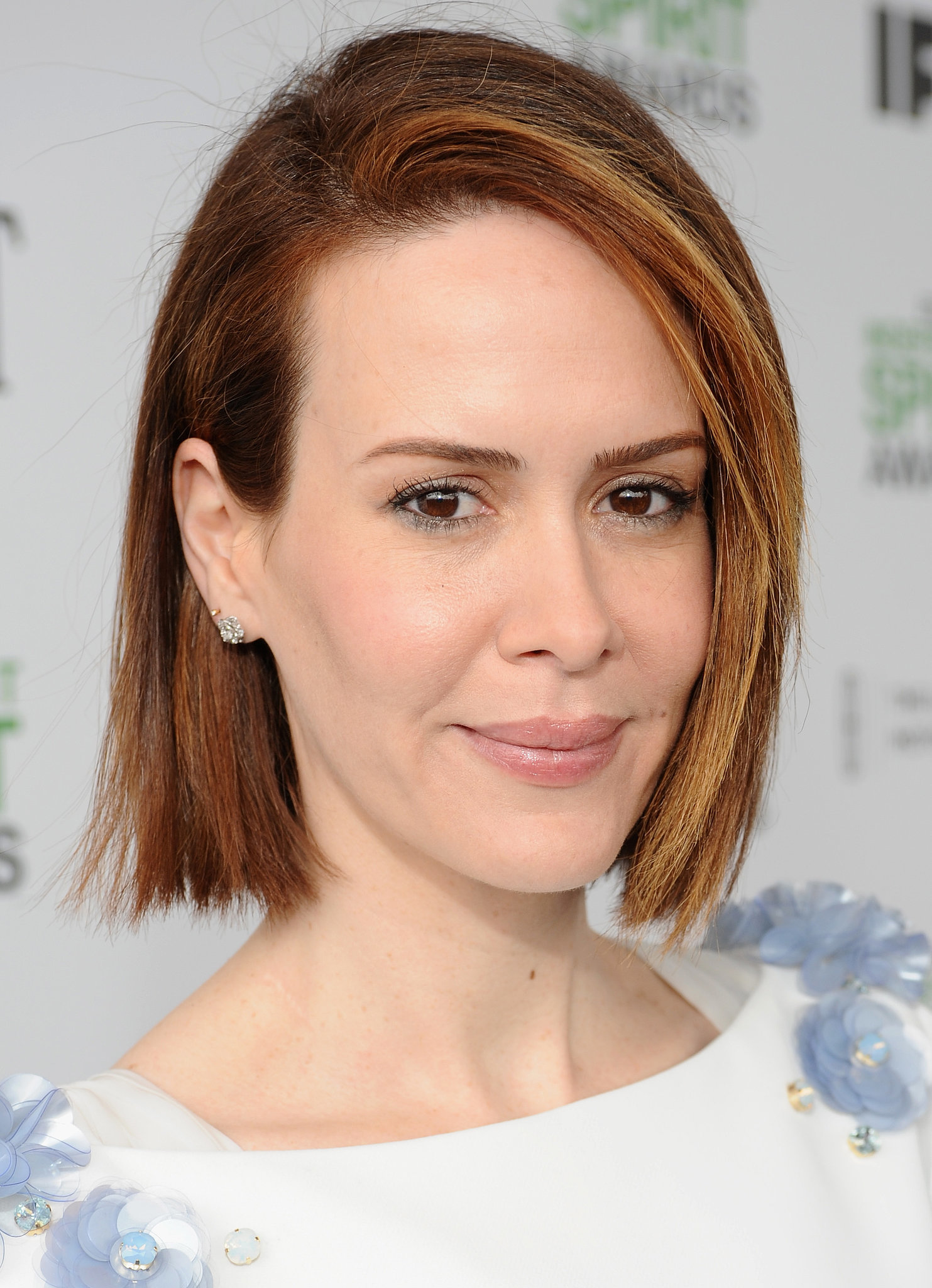 Sarah Paulson Stars Show Off Brunch Beauty Looks At The