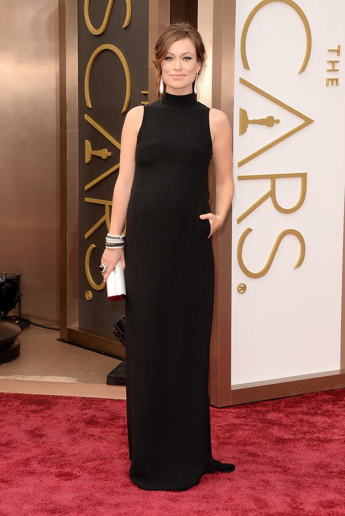 Olivia Wilde at the 2014 Oscars