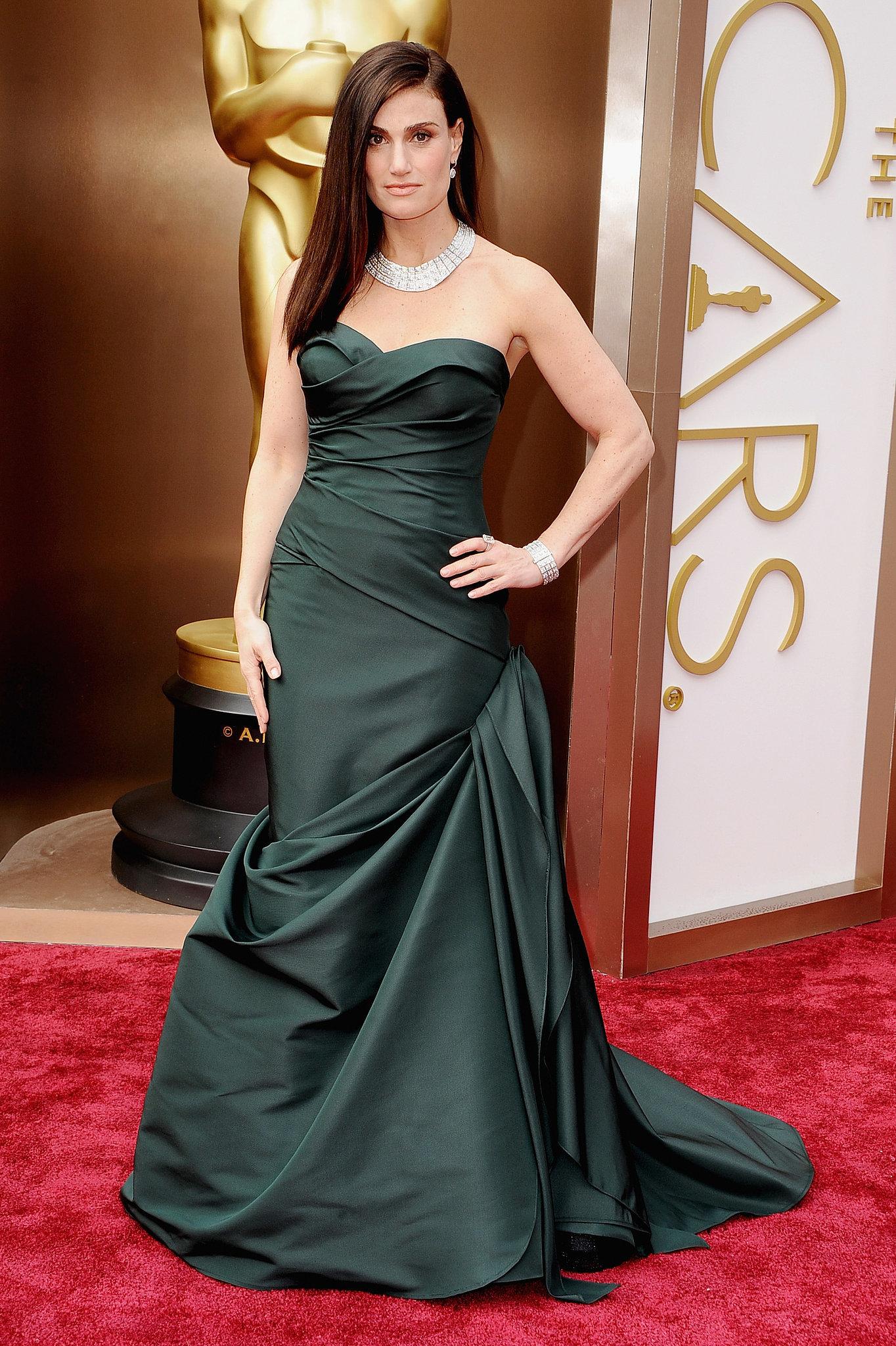 Idina Menzel at the 2014 Oscars