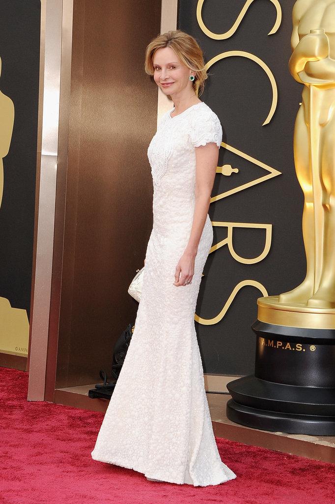Calista Flockhart at the 2014 Oscars