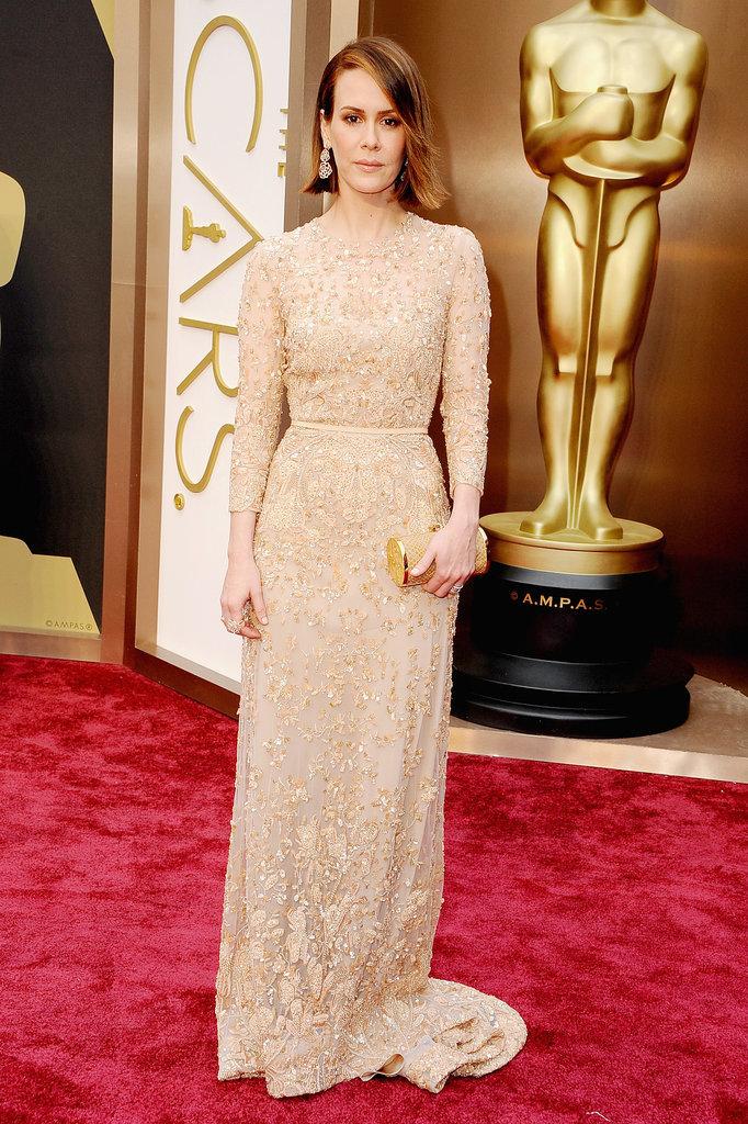 Sarah Paulson at the 2014 Oscars